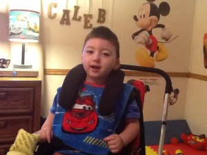 Caleb with i2i Head Positioning System